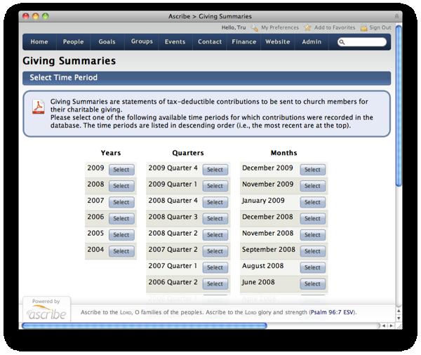 Web Page Module